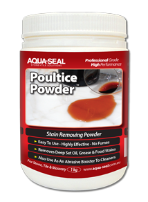 Poultice Powder™ Stain Removal Paste for Porous Surfaces