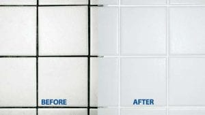GROUT COLORANT BEFORE & AFTER