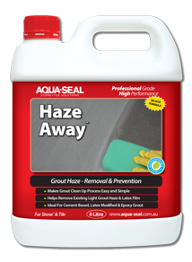 Haze Away™ Grout Haze Remover and Grout Haze Inhibitor